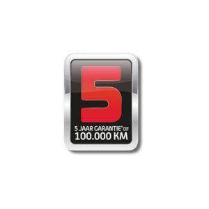 SYM 5 Jaar Fabrieksgarantie