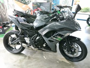 Kawasaki ninja 650 promo