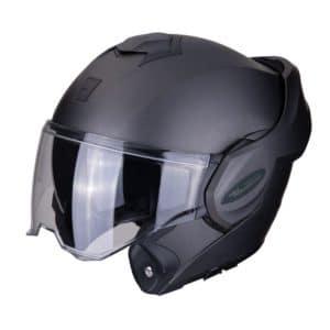 scorpion exo-tech solid motorhelm