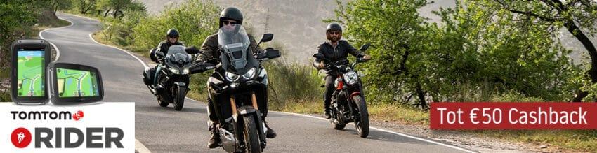 TomTom Rider Cashback actie