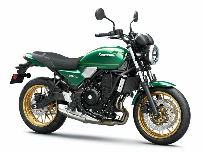KAWASAKI Z650 RS 2022 - Groen