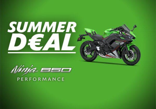 Ninja 650 summer deal